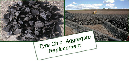 Tyre Chip  Aggregate Replacement